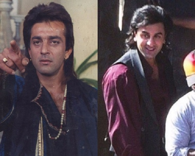 Sanjay Dutt and Ranbir Kapoor