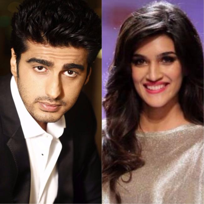 Arjun Kapoor and Kriti Sanon